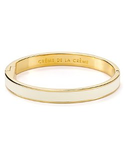 Kate Spade New York  - Crème De La Crème Idiom Bangle