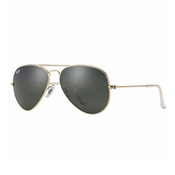 Ray-Ban - Large Metal Aviator Sunglasses