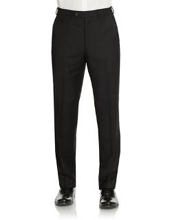 Lauren Ralph Lauren  - Classic Fit Ultraflex Wool Pants