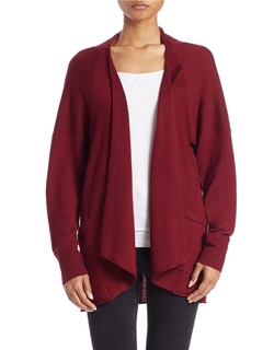 Lord & Taylor  - Long-Sleeve Open-Front Cardigan