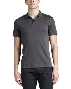 Theory  - Short-Sleeve Jersey Polo, Gray