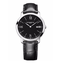 Baume & Mercier - Classima Alligator Strap Watch