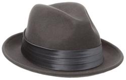 Stacy Adams - Wool Felt Snap Brim Fedora Hat