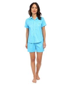 Lauren By Ralph Lauren  - Sateen Boxer Pajama Set