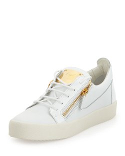 Giuseppe Zanotti	  - Leather Low-Top Sneakers