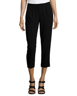 Haute Hippie  - Pleated Capri Pants