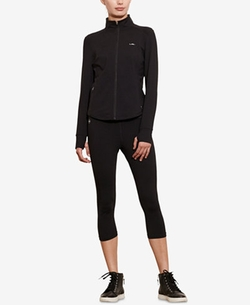 Lauren Ralph Lauren - Jersey Full-Zip Jacket