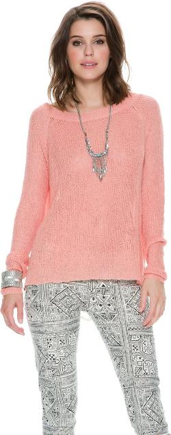 Swell  - Rosalie Lace Inset Sweater
