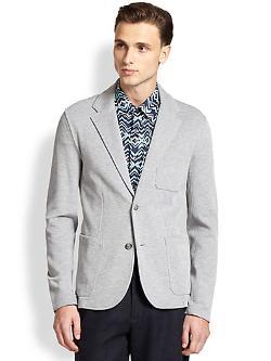 Michael Kors  - Piqué Jersey Blazer