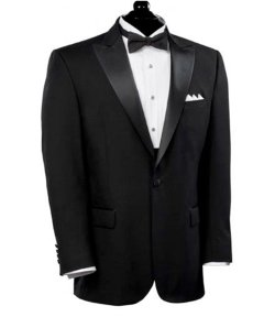 Jos. A. Bank - Black Peak Lapel Tuxedo Jacket