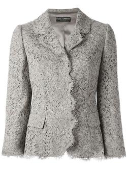 Dolce & Gabbana  - Floral Lace Blazer