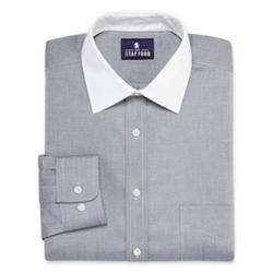 Stafford  - Signature Contrast Collar No-Iron Dress Shirt