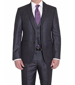 Calvin Klein  - Textured Three Piece Suit