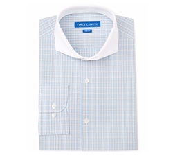 Vince Camuto - Check Contrast Collar Dress Shirt