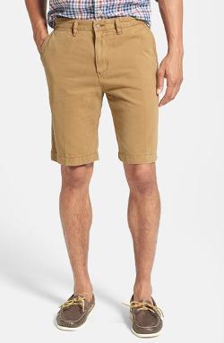 Tori Richard - Newport Regular Fit Cotton Twill Shorts