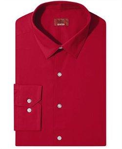 Alfani  - Spectrum Slim-Fit Solid Dress Shirt