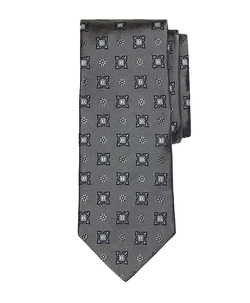 Brooks Brothers - Large Spaced Medallion Tie