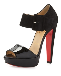Christian Louboutin  - Haute Rettenue Red Sole Sandals