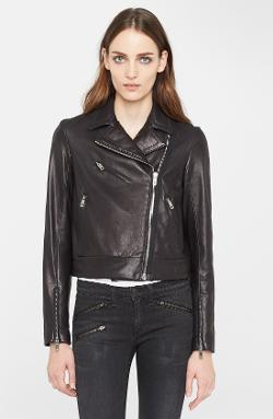 Rag & Bone  - Victorian Leather Biker Jacket