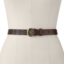 Sonoma Life + Style - Perforated Leather Belt