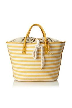 Charlotte Ronson - Yellow Drawcord Tote
