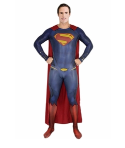 Thecostumebase - Superman Man Of Steel Jumpsuit Costume