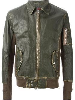 Sword  - Distressed Colour Block Jacket