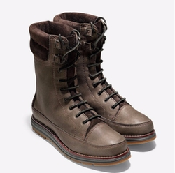 Cole Haan - Waterproof Double Collar Lace Boots