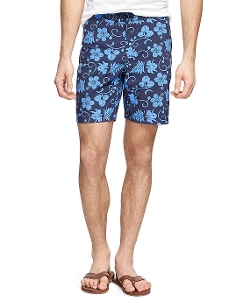 Brooks Brothers - Hibiscus Print Board Shorts