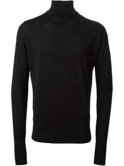John Smedley  - Richards Turtle Neck Jumper Sweater
