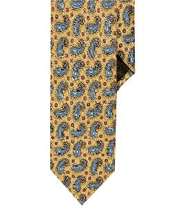 Black Brown 1826 - Slim Fit Paisley Neat Tie