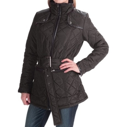 KC Collection - Belted Quilted Jacket
