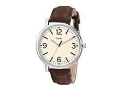 Timex - Originals Classic Round Leather Strap Watch