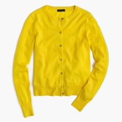 J.Crew - Lightweight Wool Jackie Cardigan Sweater