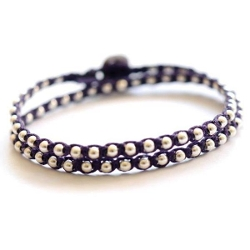 Boticca - Double Wrap Beaded Bracelet