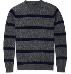 J.Crew - Striped Cashmere Sweater