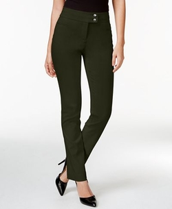 Style & Co. - Tummy-Control Slim-Leg Pants