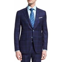 Isaia - Super 140s Plaid Suit