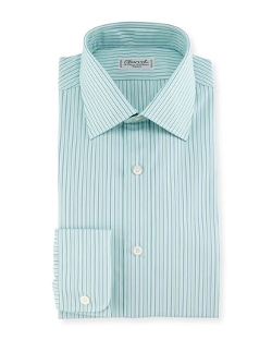Charvet Shadow  - Striped Dress Shirt