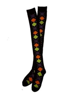 Shopko - Argyle Over The Knee Socks