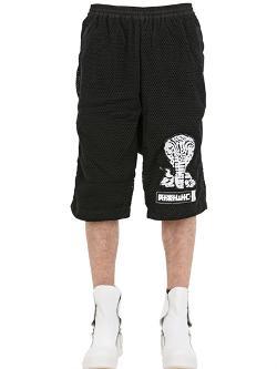 KTZ - Layered Mesh Fleece Shorts