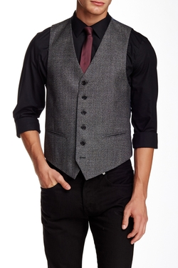 Star Usa By John Varvatos - Plaid Wool Vest