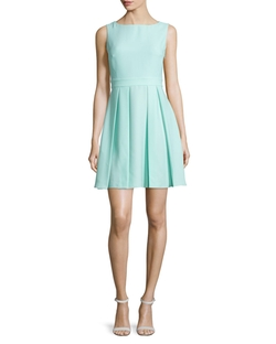 Kate Spade New York  - Sleeveless Bow-back Mini Dress