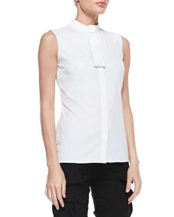 Altuzarra - Sleeveless Mini-Tie Blouse