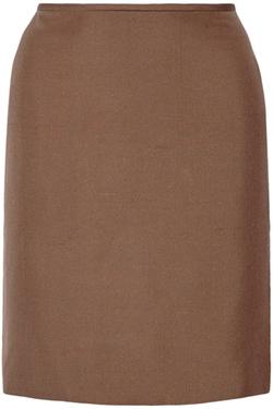 Agnona - Silk Pencil Skirt