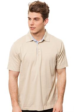 BURIED ALIVE VINTAGE  - The Zegna Polo in Khaki