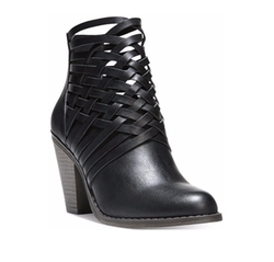 Fergalicious - Weever Block Heel Ankle Booties