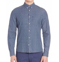 J. Lindeberg - Dani Button-Down Floral Shirt