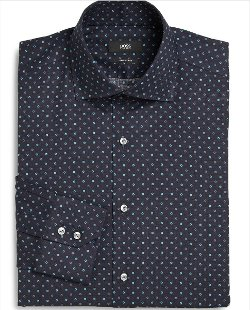 Boss Hugo Boss - Dot Print Dress Shirt