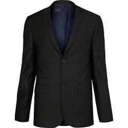 River Island - Black Skinny Suit Jacket